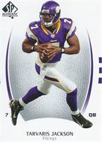 2007 Upper Deck NFL SP Authentic - Tarvaris Jackson (Vikings) #7 QB - Card #86