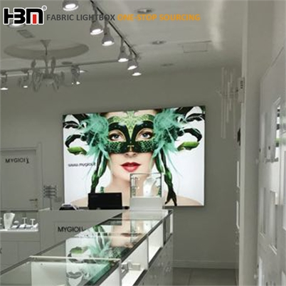professional manufacture of high-end quality LED advertising fabric light box