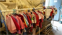 Baby clothes for sale, MANY RACKS, newborn to 6T (Calgary)