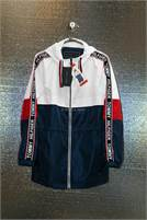 Ladies Tommy Hilfiger womens Anorak W/Logo Sleeve Taping #DECJ34070321-597