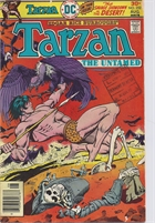 "Tarzan (1972 DC) #252 Published Aug 1976 by DC.  ""The Savage Showdown in the Desert!"""