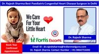 Dr. Rajesh Sharma Best Paediatric Congenital Heart Disease Surgeon in Delhi